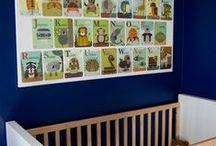 Nursery ~ Blue - Green / by Debra Kelly Myers
