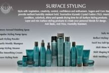 Products We Love From Surface / A high performance salon exclusive line that protects both your health and the earth. 100% Organic certified vegan also Gluten Free.