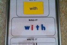 Ed. Spelling / Activities and information for spelling.  Sight words, phonics, etc / by Clarissa Smith