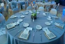 Decor Inspiration / Flower arrangements, center pieces and table numbers that inspire our events!