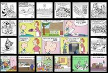 Quilting Humor / Take a break and read the Sunday Funnies.