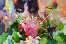 Art Works I Admire / Some examples of art I love / by Linda Hughes