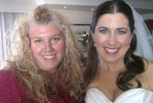 Wedding: Beautiful Vermont Bride / Cynthea Hausman from Cynthea's Spa creates a bridal look.