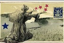 special delivery / envelopes ~ postage stamps ~ postcards ~ greeting cards