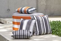 Throw Cushions / Inspiration for decorating with throw cushions.