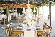 披露宴 l Reception / 素敵な披露宴の空間を特集しています。Wedding reception Decors and centerpieces.