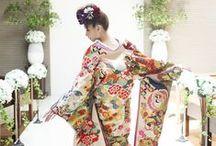 和装 l Kimono Dress / 色打ち掛けや白無垢など、結婚式の和装スタイルを特集しています。