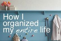 Organize Your Home / Storage and organization for around the home