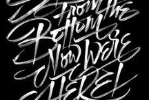 Typography & Lettering / by Jen Mussari