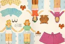 paper dolls / by Deb Ett
