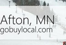 "Afton, MN | Offers & Events / Businesses with ""heart"" thank you by donating to a school or cause you love. Get the Go Buy Local app or sign up at www.gobuylocal.com to save local + earn donations!"
