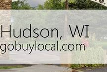 "Hudson, WI | Offers & Events / Businesses with ""heart"" thank you by donating to a school or cause you love. Get the Go Buy Local app or sign up at www.gobuylocal.com to save local + earn donations for your nonprofit!"