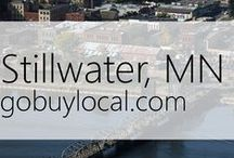 "Stillwater, MN | Offers & Events / Businesses with ""heart"" thank you by donating to a school or cause you love. Get the Go Buy Local app or sign up at www.gobuylocal.com to save local + earn donations for your nonprofit!"