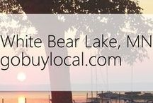 "White Bear, MN | Offers & Events / Businesses with ""heart"" thank you by donating to a school or cause you love. Get the Go Buy Local app or sign up at www.gobuylocal.com to save local + earn donations for your nonprofit!"