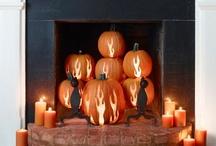 Pumpkin Decorations / Halloween and Fall decorations using pumpkins
