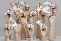 Mannequin Hand Displays / We sell all types of mannequin hands at www.MannequinMadness.com  / by Mannequin Madness