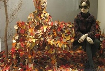 Fall & Thanksgiving Displays with Mannequins / #visual merchandising, #window displays with a fall, theme using mannequins. Find the right mannequin for your need at MannequinMadness.com    / by Mannequin Madness