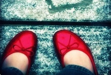 Red Shoes...  My Weakness.