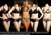 Plus Size Mannequins / Beauty comes in all sizes Examples of plus size mannequins in retail stores and plus size models in fashion sites. We sell plus size mannequins and dress forms at www.MannequinMadness.com