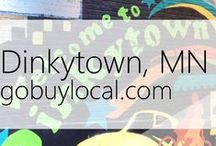 "Dinkytown, MN | Offers & Events / Businesses with ""heart"" thank you by donating to a school or cause you love. Get the Go Buy Local app or sign up at www.gobuylocal.com to save local + earn donations!"