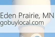 "Eden Prairie, MN | Offers & Events / Businesses with ""heart"" thank you by donating to a school or cause you love. Get the Go Buy Local app or sign up at www.gobuylocal.com to save local + earn donations!"