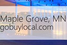 "Maple Grove, MN | Offers & Events / Businesses with ""heart"" thank you by donating to a school or cause you love. Get the Go Buy Local app or sign up at www.gobuylocal.com to save local + earn donations!"