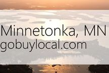"Minnetonka, MN | Offers & Events / Businesses with ""heart"" thank you by donating to a school or cause you love. Get the Go Buy Local app or sign up at www.gobuylocal.com to save local + earn donations!"
