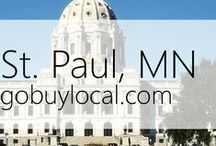 "Saint Paul, MN | Offers & Events / Businesses with ""heart"" thank you by donating to a school or cause you love. Get the Go Buy Local app or sign up at www.gobuylocal.com to save local + earn donations for your nonprofit!"