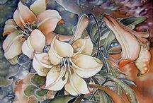 Batik & Silk Painting