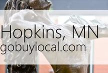 "Hopkins, MN | Offers & Events / Businesses with ""heart"" thank you by donating to a school or cause you love. Get the Go Buy Local app or sign up at www.gobuylocal.com to save local + earn donations!"