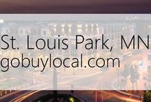 "St. Louis Park, MN | Offers & Events / Businesses with ""heart"" thank you by donating to a school or cause you love. Get the Go Buy Local app or sign up at www.gobuylocal.com to save local + earn donations!"