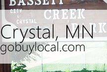 "Crystal, MN | Offers & Events / Businesses with ""heart"" thank you by donating to a school or cause you love. Get the Go Buy Local app or sign up at www.gobuylocal.com to save local + earn donations for your nonprofit!"