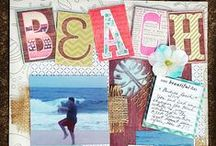 Scrapbook Layouts / My own Scrapbook layouts, plus crafter favorites that inspire me.