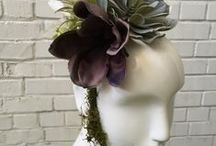 Succulents & Mannequins / Mannequin and mannequin heads  are unique planters for silk or real succulents.