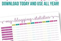 Printables - Organizational / Printables for a DIY household planner & more