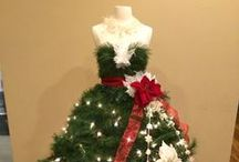 Christmas Trees: DIY Dress Forms / These are the designs from customers who used the Dress Form Christmas Tree Tutorials at Mannequin Madness. Just like snowflakes, no two trees are alike. / by Mannequin Madness