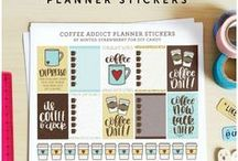 Printable Planner Stickers / Printable planner stickers