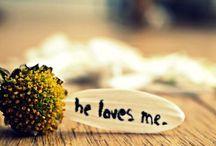 He loves me....