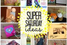 Church: Super Saturdays / Ideas for crafts that could be done in one 2 hour block or on a Saturday Craft Day. / by Nancy Hart