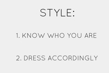 Dress Accordingly / Style / by Jennifer Henderson Wright