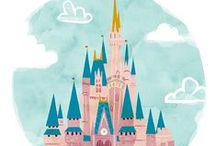 Disney / Princesses and Monsters are invited to a party... / by Cigallou N.