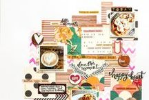 Digital Scrapbooking / Scrapbooking without all the mess. Digital files, ideas, and more