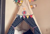 Fort Friday / Summer plans include making a different fort every friday. These are some of my ideas. / by Maggie Muggins