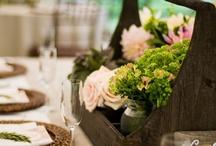 Centerpieces/floral design / by Robin Underwood