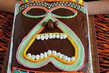 Hawaiian Luau First Birthday