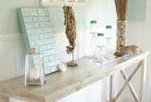 Entry / Narrow Entry Space Decorating Ideas / by Maggie Muggins