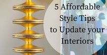 Interior Design Tips / Tips, tricks and DIY for home interiors