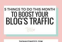 Få mer trafikk til bloggen / Tips og råd for mer trafikk til bloggen din.