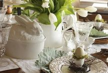 Dishes & Tablescapes / The joy of tablescaping and the love of dishes.  / by Judi West
