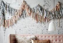 Garlands + Hangings / by Mariah Danielsen | Oh, What Love Studios